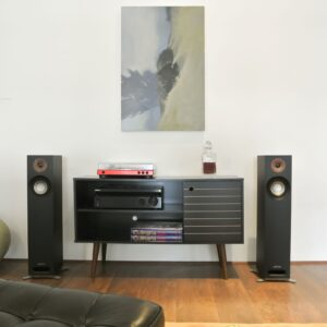 Audio system for apartment lifestyle