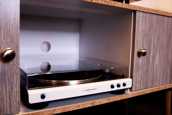 Our Audio Technica White Turtable
